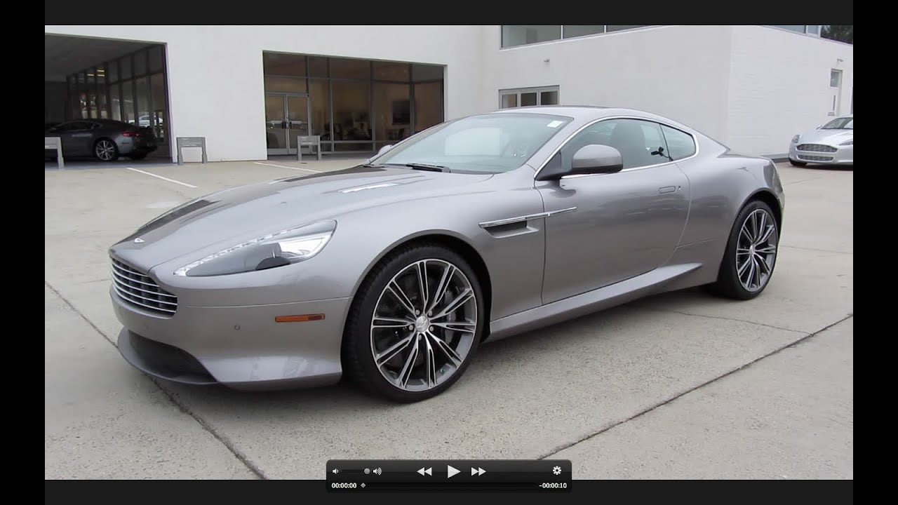2012 aston martin virage start up exhaust and in depth tour youtube