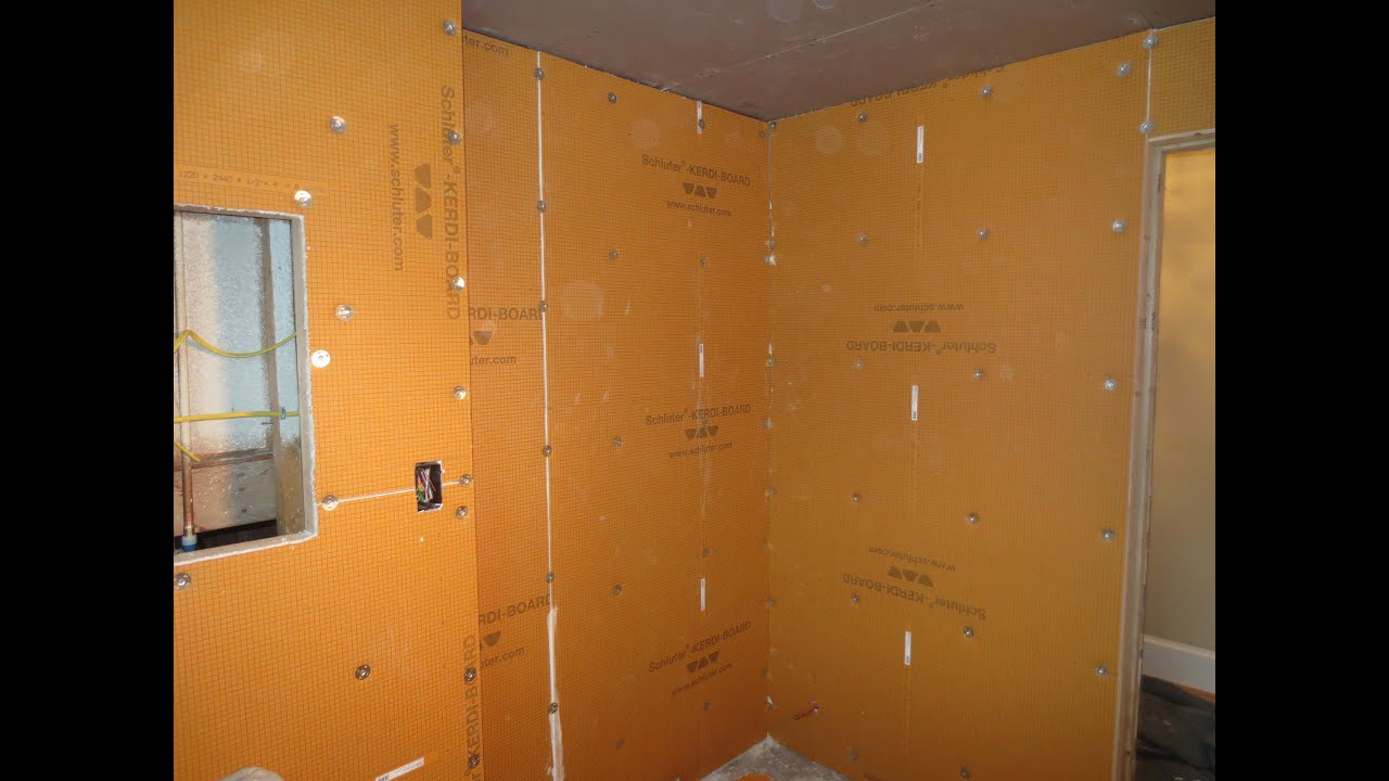 Complete bathroom schluter systems products part 1 installing complete bathroom schluter systems products part 1 installing kerdiboard youtube dailygadgetfo Gallery