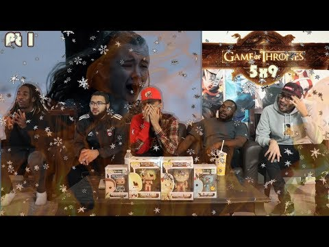 "Game Of Thrones Season 5 Episode 9 ""The Dance of Dragons"" REACTION Part 1"