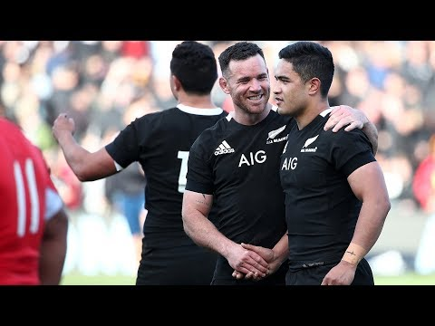 HIGHLIGHTS: All Blacks V Tonga (Hamilton)