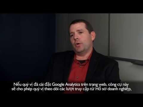 Theo dõi hoạt động của Hồ sơ doanh nghiệp với Google Analytics