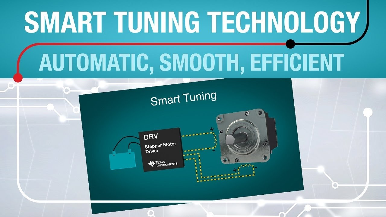 Smart tuning technology: Automatically tune your stepper motor