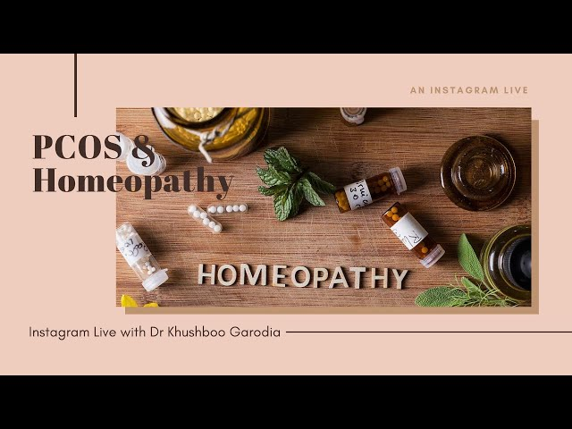 PCOS & Homeopathy ( Instagram Live)