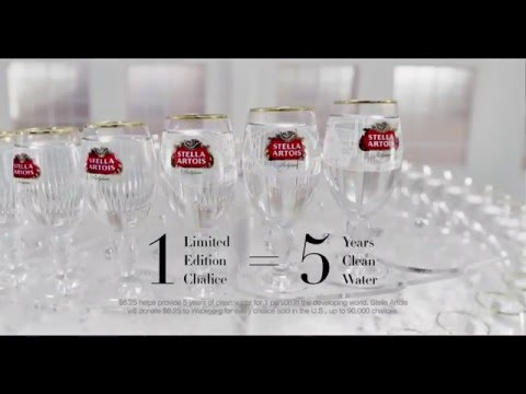 Stella Artois Water Leaves a Mark Commercial :30