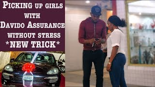 PICKING UP GIRLS WITH DAVIDO ASSURANCE (Porsche) 2018 PRANK | Zfancy