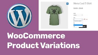 WooCommerce Product Variations Attributes Tutorial | Add Colors, Size, Image For Variable Products(, 2018-12-08T17:07:58.000Z)