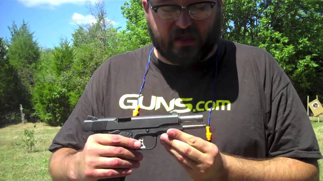 Gun Review: Ithaca 1911: Something new, something different