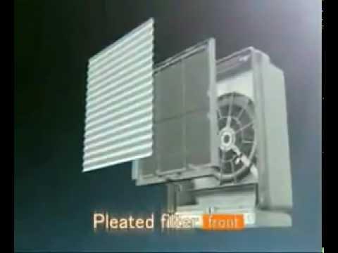 daikin air purifier mc707 flash streamer youtube rh youtube com Daikin Service Manuals Daikin Inverter Manual