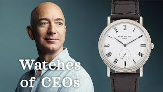 Watches of CEOs & Famous Business Executives (Jeff Bezos, Akio Toyoda, & More)