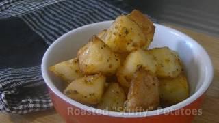 "Recipe: Roasted ""scuffy"" Potatoes"