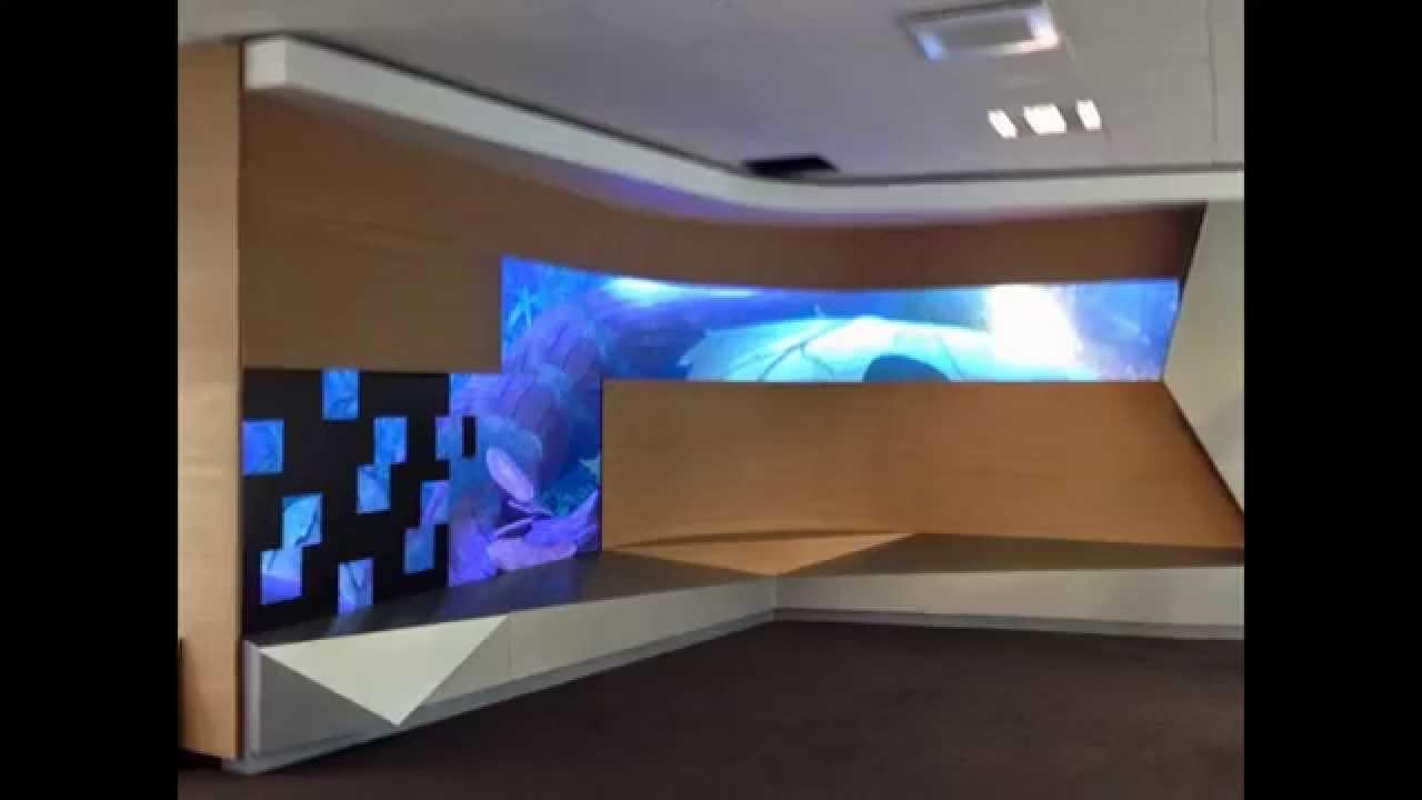 Alcatel ecran geant led int rieur architectural youtube for Ecran geant led exterieur