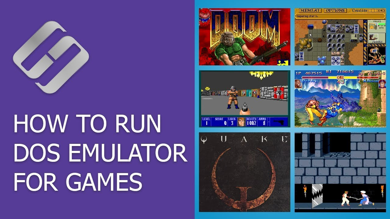 How to Run DOS Emulator for Games Like Doom, Quake, Duna, Fallout and PC  Programs 💻 🎮 🙂