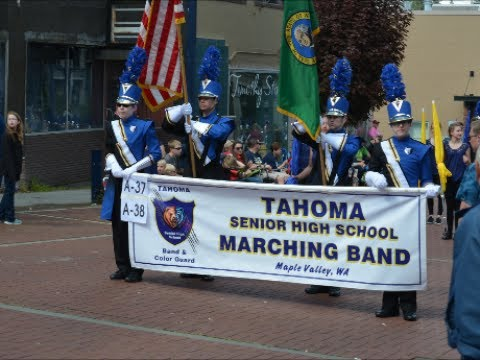 69th Armed Forces Day Parade ~  Tahoma Senior High School