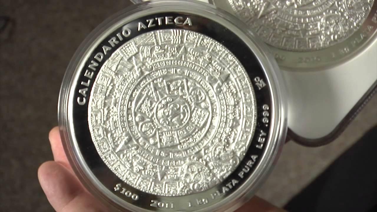 Apmex Silver Coins 1 Kilo 32 15 Oz Silver Aztec