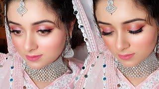 Engagement Makeup and Dress Full Tutorial, Step by Step Makeup