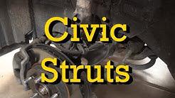Honda Civic Front Strut Replacement 2006 (2006-2011 Similar)