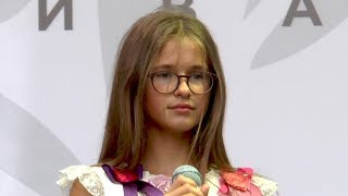Мария Панюкова (11 лет). Родина. 04.08.2018.