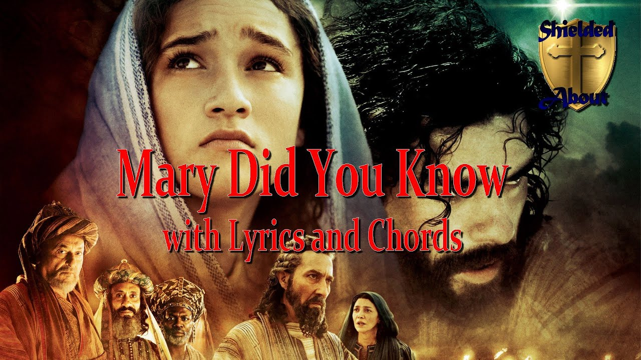 Mary Did You Know (with Lyrics and Chords) - Christmas Rock - YouTube