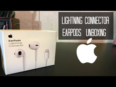 EarPods With Lightning Connector Unboxing