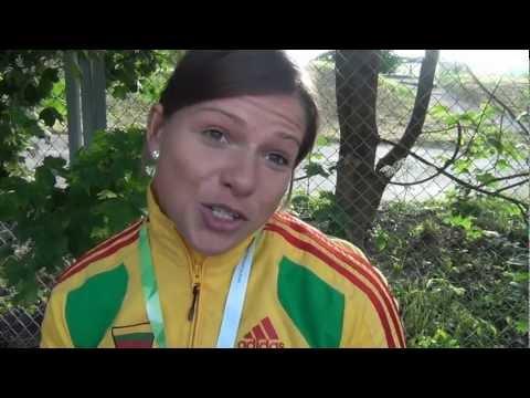 LAF: Europos čempionato medalininkė L.Grincikaite: tikejaus, kad galiu buti tarp geriausiu