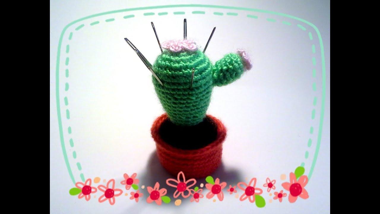 Crochet Cactus Pincushion | Crochet cactus free pattern, Pin ... | 720x1280
