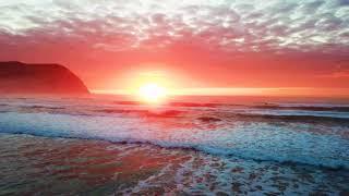 Beautiful Sunset on Seaside .Music Amazing Grac, Various Artists.
