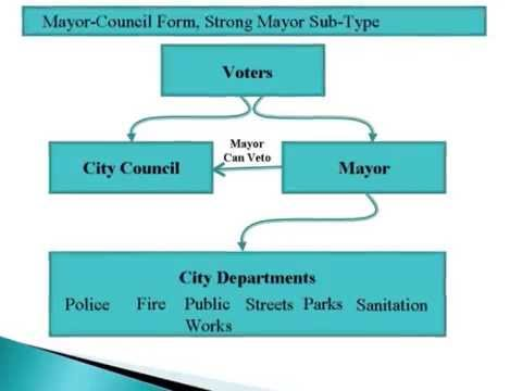 Forms of Municipal Government Mayor Council