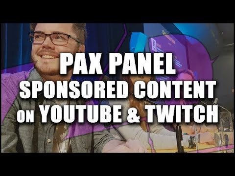"PAX AUS Panel: Sponsored Content on YouTube & Twitch ""Soul Doubt"" (2017)"