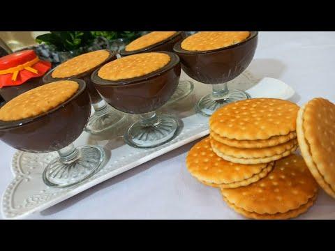 5min‼-️to-prepare-a-good-chocolate-biscuit-dessert-😋😋😋