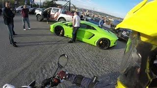 Tbilisi Rides #1 - Rally, Almost crash, Lamborghini