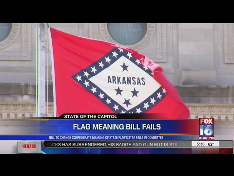 Bid To Strip Confederate Link From Arkansas Flag Rejected