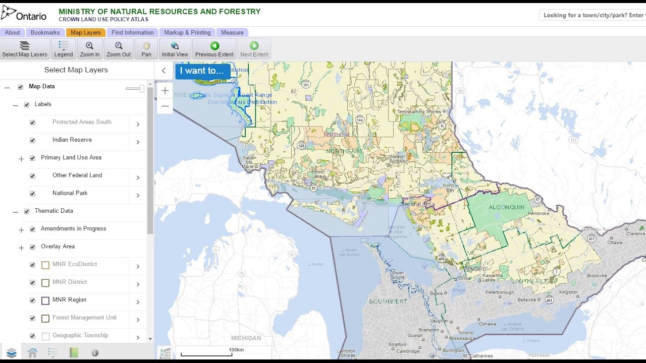 Crown Land Ontario Map How To Find Crown Land and Permitted Activities in Ontario CANADA  Crown Land Ontario Map