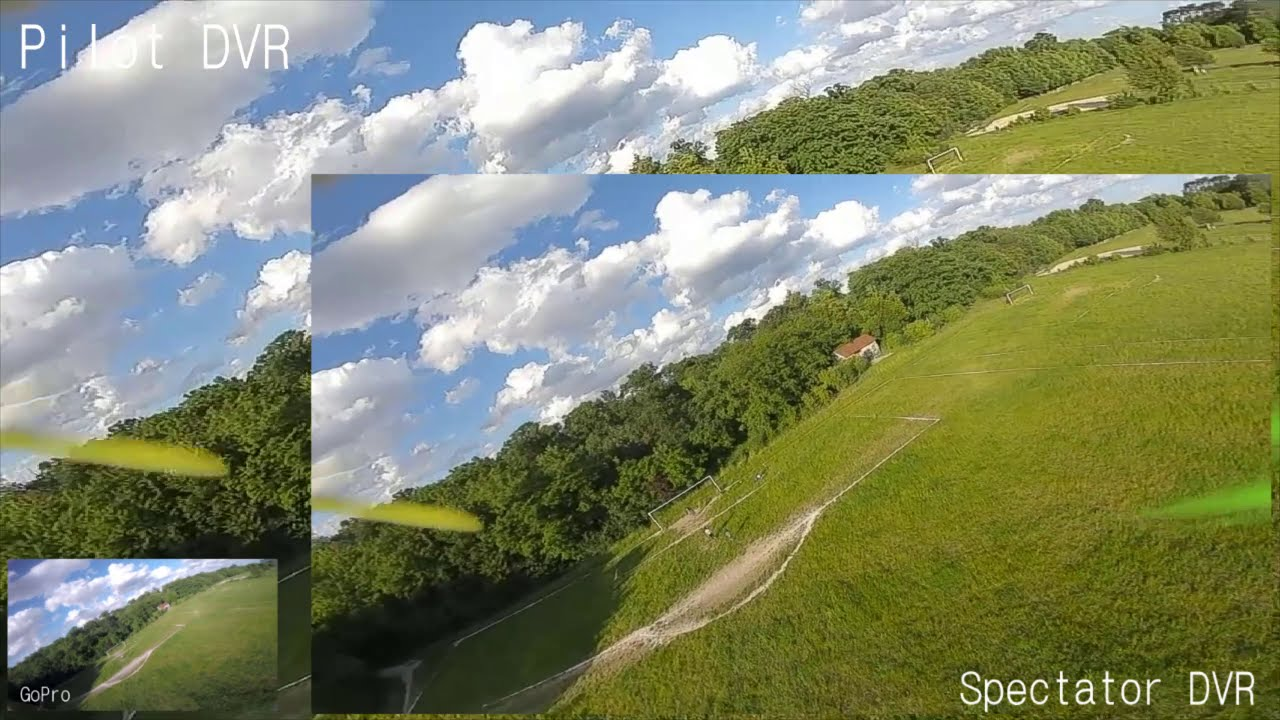DJI FPV System : Audience Mode quick test (mode spectateur) картинки