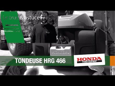Le Saviez-vous ? Présentation de la tondeuse Honda HRG 466 par Alexis, Mécanicien du jardin