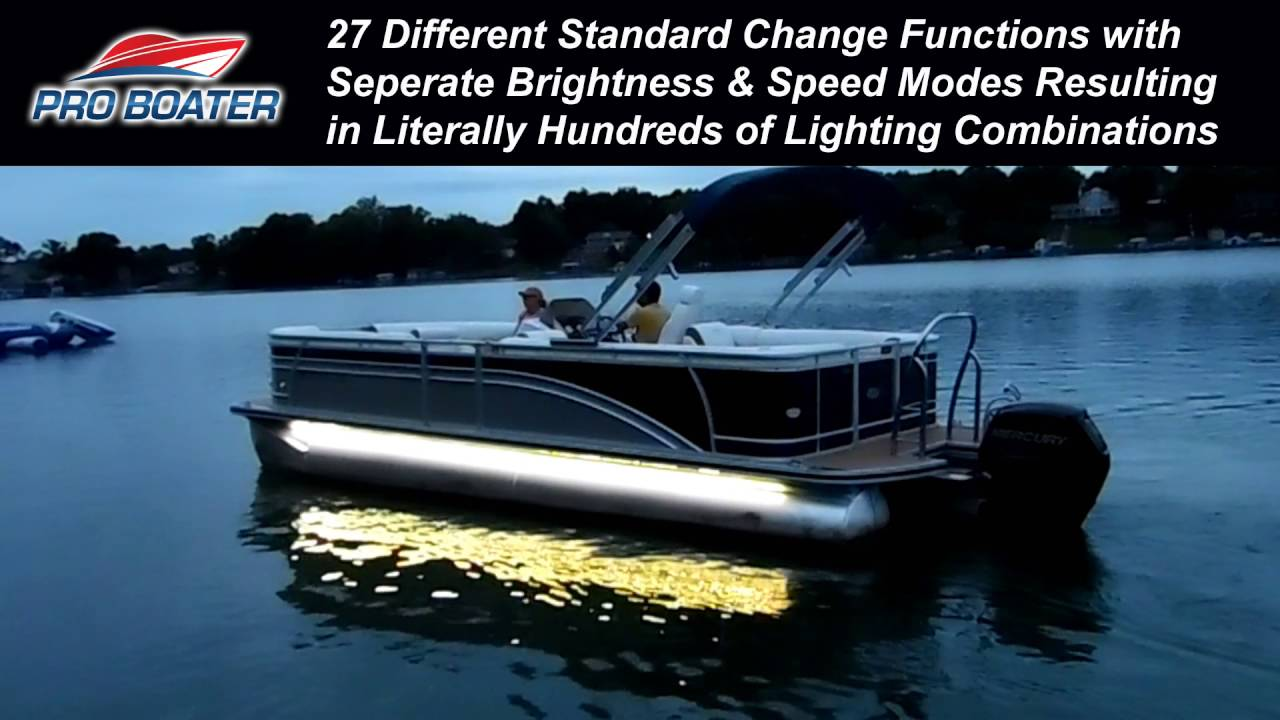 ProBoater 7 Color RGB LED Boat Light Kit - YouTube
