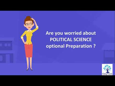 Political Science and International Relations 2019,2020 for UPSC/CSE/IAS
