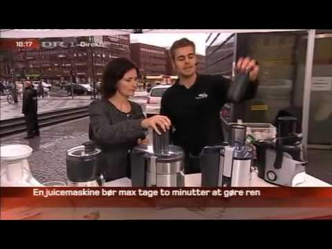 Friskpresset juice med Mads Bo Pedersen - High On Life - Aftenshowet DR 1 (Danish)
