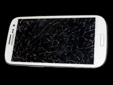 DIY Samsung Galaxy S3 Cracked Screen/Glass Replacement Broken Screen Repair Fix