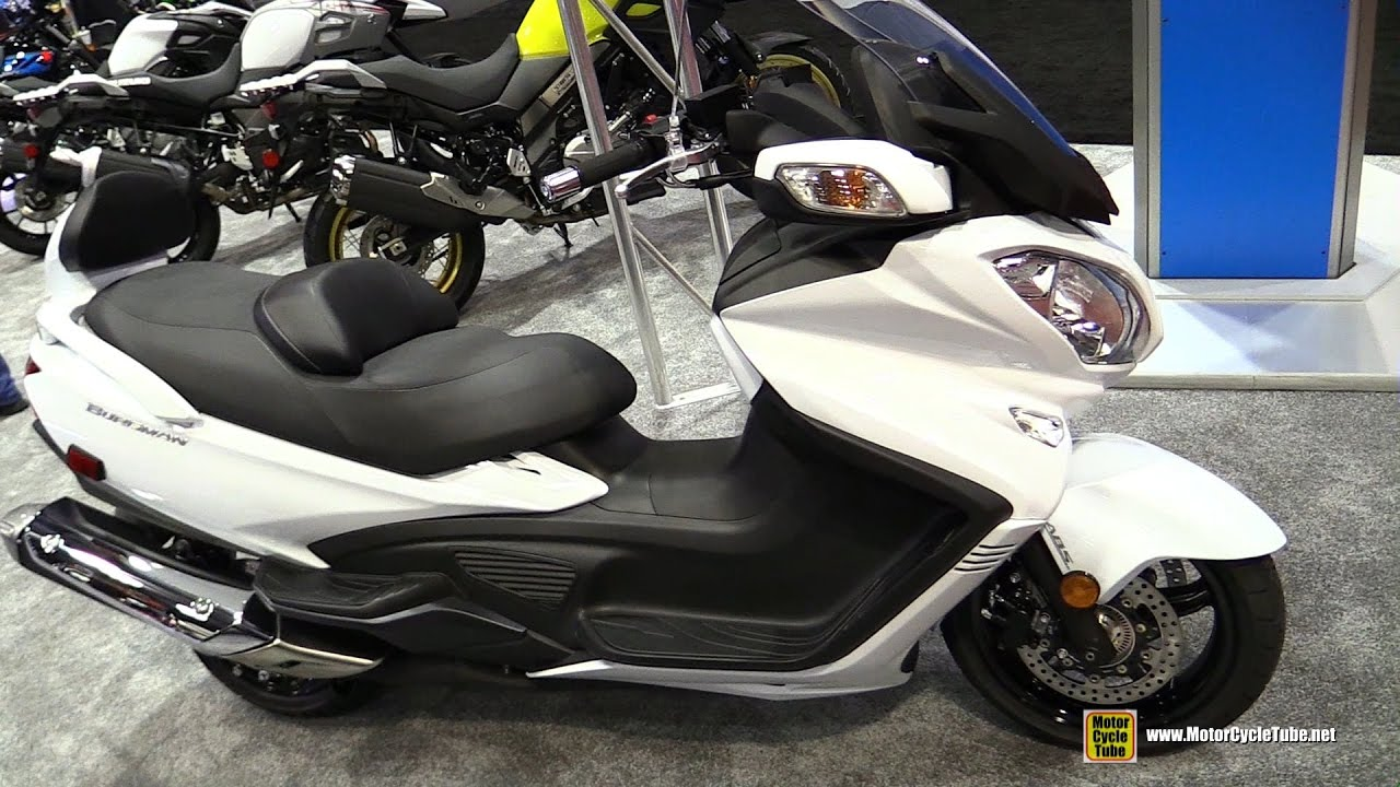 2018 suzuki burgman 650 executive. interesting burgman 2017 suzuki burgman 650 executive scooter  walkaround 2016 aimexpo  orlando with 2018 suzuki burgman executive