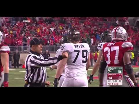 11/21/2015 - Michigan State 17  Ohio State 14