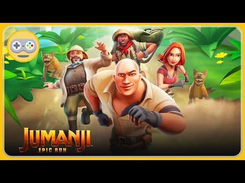 Джуманджи 3 Новый уровень - игра Jumanji Epic Run. Вернуть Священный Камень Сокола и спасти мир