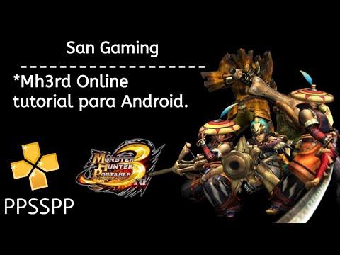 Mh3rd/MHFU - Como Jogar ONLINE Pelo Android/PPSSPP Tutorial (ATUALIZADO)
