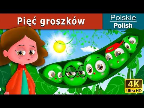 Pięć groszków | Bajki na Dobranoc | Bajki dla Dzieci | Polish Fairy Tales from YouTube · Duration:  11 minutes 54 seconds
