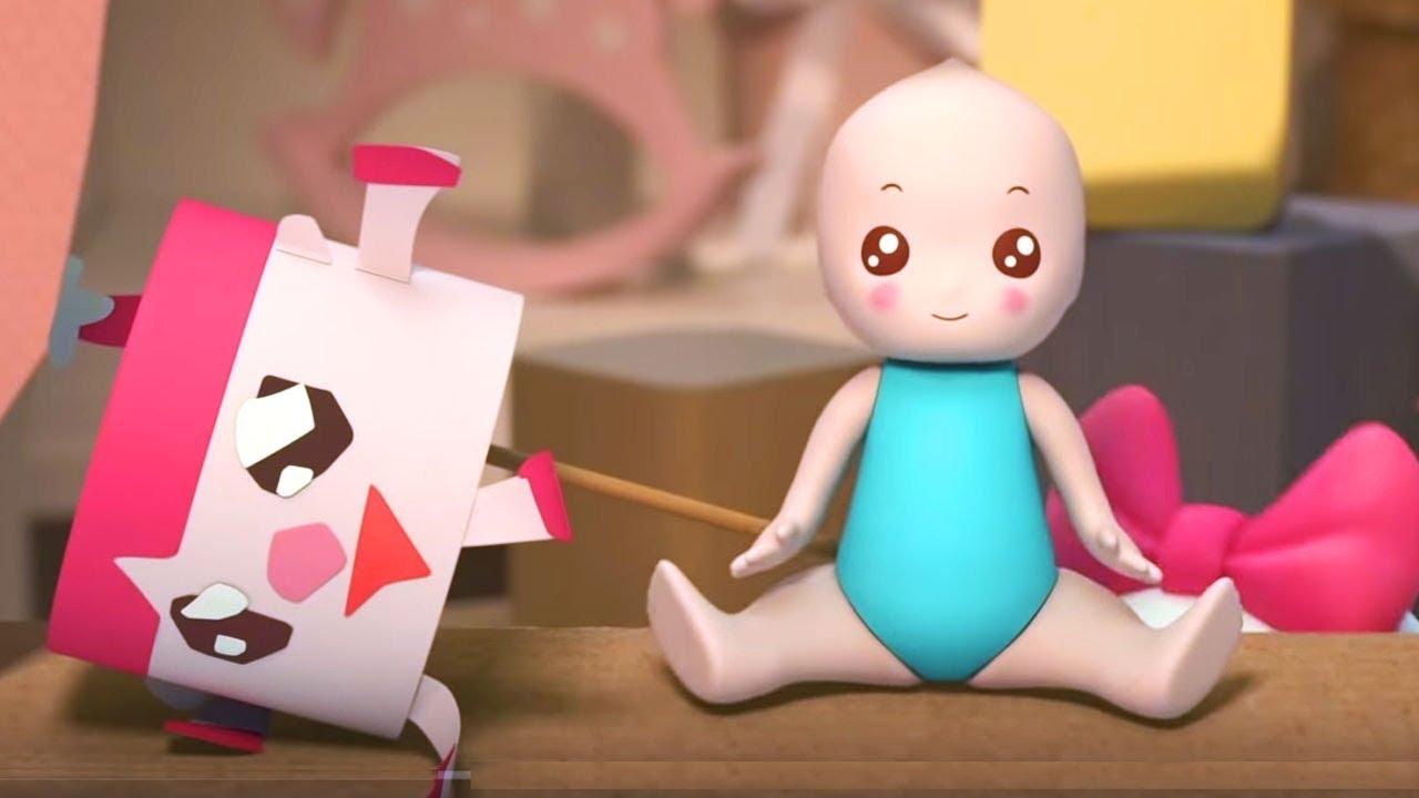 Малышарики - новые серии - Кукла. Извините (152 серия) Развивающие мультики для самых маленьких