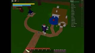 Dlivering gohan's lunch!:roblox DBZFS ep1