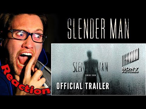 SLENDER MAN - Official Trailer REACTION! | BLAIR WITCH MEETS THE RING! |