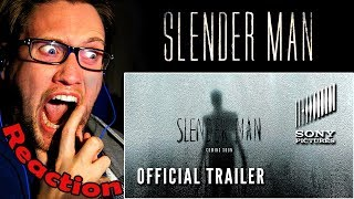 "SLENDER MAN - Official Trailer REACTION! | ""BLAIR WITCH"" MEETS ""THE RING""! 
