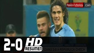 Uruguay vs Republica Checa  2-0 RESUMEN GOLES  [All-Highlights] 23/03/2018