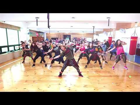 Zumba  Warm up / DJ Baddmixx - James Has His Way 10Min Warm up / Zumba Korea TV