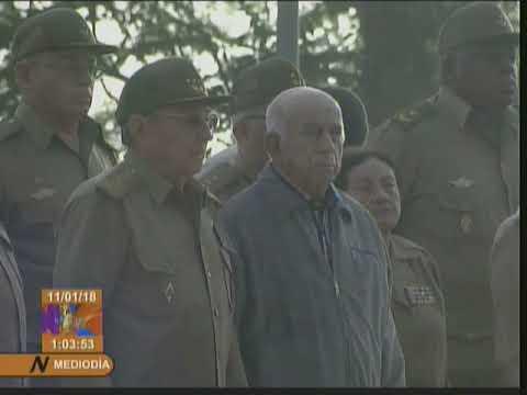 Preside Raúl Castro tributo a combatientes del III Frente